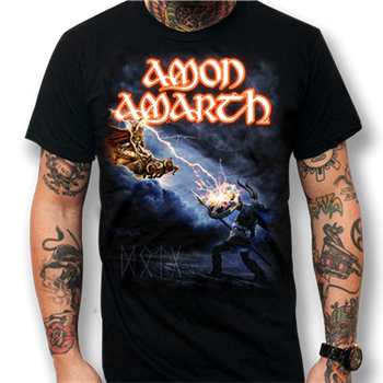 Amon Amarth DOTG Album Cover - 2014 Tour