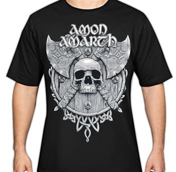 Amon Amarth Grey Skull