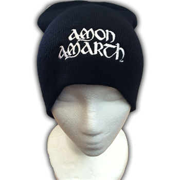 Amon Amarth Embroidered Silver Logo