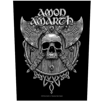 Amon Amarth Crossed Axes Backpatch