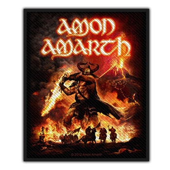 Amon Amarth Surtur Rising Patch
