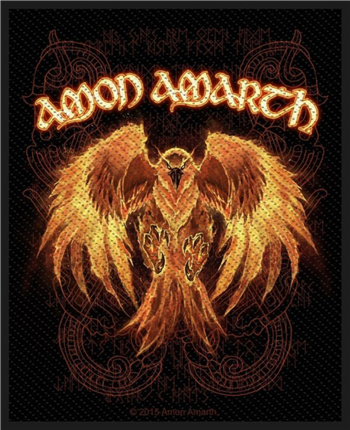 Amon Amarth Phoenix Patch