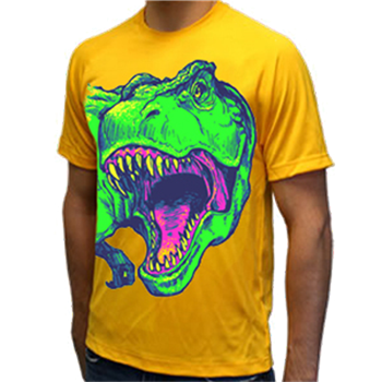 Buy Fluorescent T-Rex Yellow T-Shirt by Animal Planet
