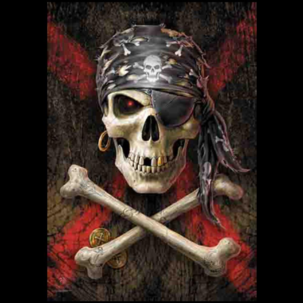 ANNE STOKES - Pirate Skull