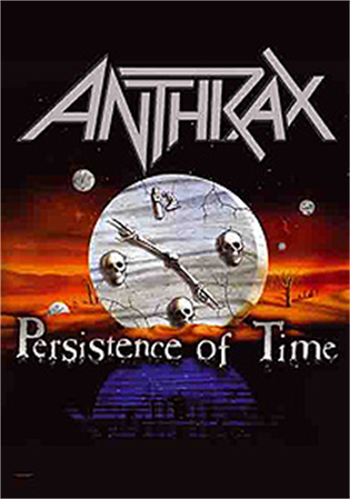 Buy Persistence Of Time Flag by Anthrax