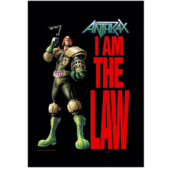 Buy Judge Dredd Flag by Anthrax