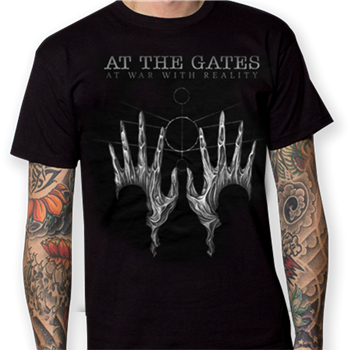 At The Gates At Wars Album Cover - Tour Dates