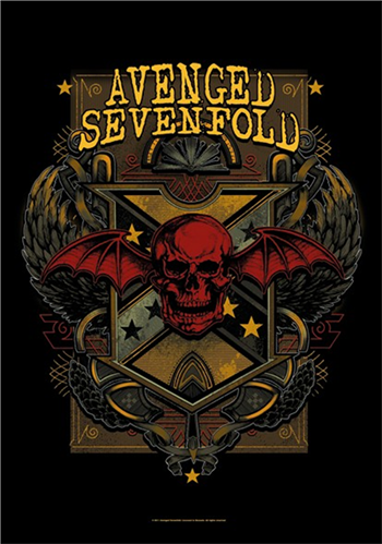 Avenged Sevenfold Death Crest