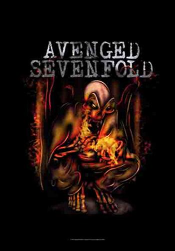 Buy Fire Bat Flag by Avenged Sevenfold