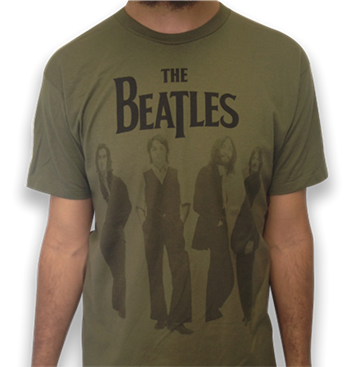 Beatles Standing Photo T-Shirt