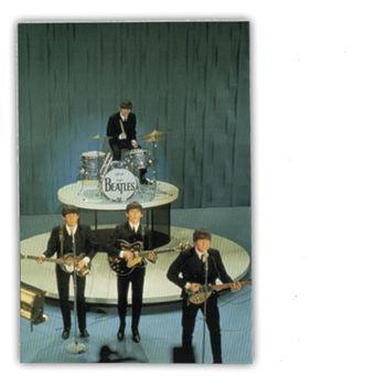 Beatles Early Days Live Postcard