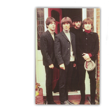 Beatles Doorstep Postcard