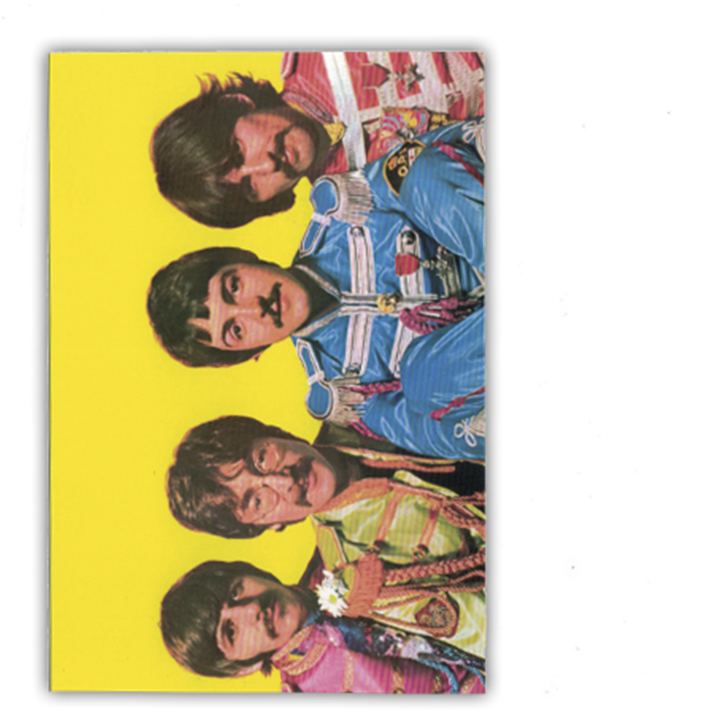 Sgt. Pepper Outfits Postcard