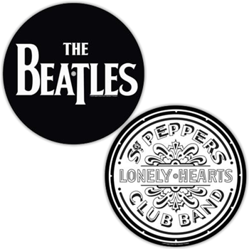 Beatles Logo / Sgt. Pepper Logo Slipmat Set