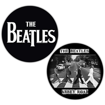 Beatles Logo / Abbey Road Crossing Slipmat Set