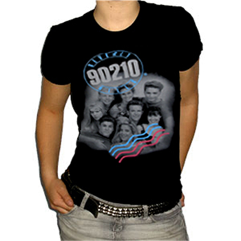 Beverly Hills 90210 Gang Photo T-Shirt