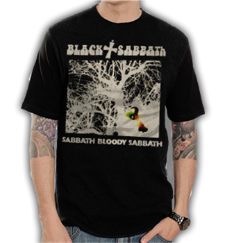 Buy Bloody Single Vintage T-Shirt by Black Sabbath