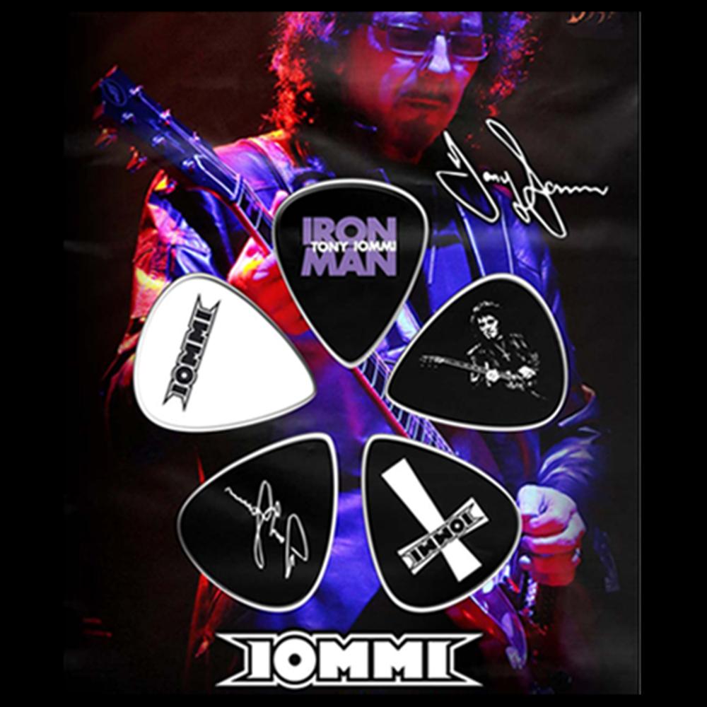 Iron Man Guitar Pick Set