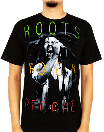 Buy Roots, Rock, & Reggae T-Shirt by Bob Marley