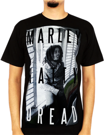 Buy Natty Dread T-Shirt by Bob Marley