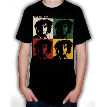Buy Faces T-Shirt by Bob Marley