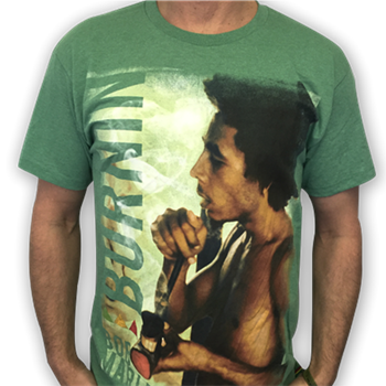 Buy Bong Smoking T-Shirt by Bob Marley