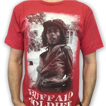 Buy Buffalo Soldier T-Shirt by Bob Marley