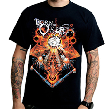 Buy Abstract T-Shirt by Born Of Osiris