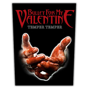 Bullet For My Valentine Temper Temper Backpatch