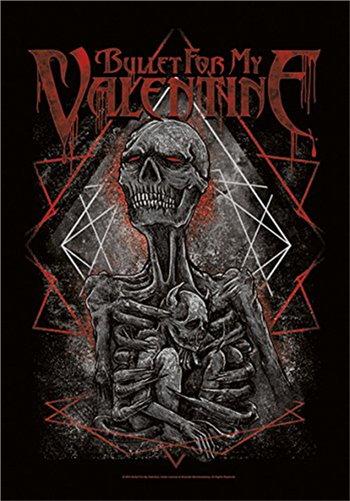 Bullet For My Valentine Skeleton