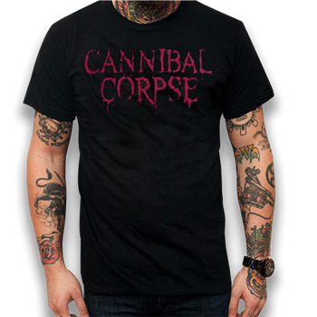 Buy Logo / 2014 Tour Dates T-Shirt by Cannibal Corpse