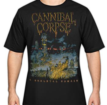 Buy Skeletal Tour T-Shirt by Cannibal Corpse
