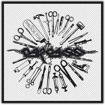 Carcass Surgical Steel Patch