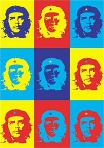 Buy Multiple Colors Flag by Che Guevara