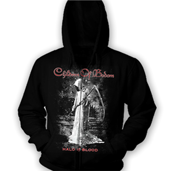 Children Of Bodom Grey Reaper COBHC Zip Hoodie