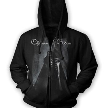 Buy Fear the Reaper Zip Hoodie by Children Of Bodom