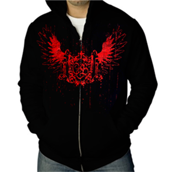 Buy Crest Zip Hoodie by Children Of Bodom