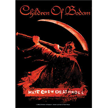 Buy Hate Crew Flag by Children Of Bodom
