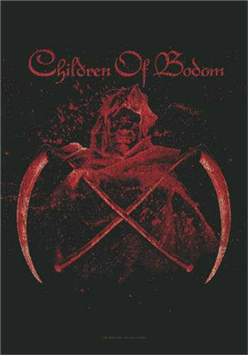 Buy Crossed Scythes Flag by Children Of Bodom