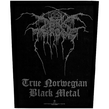 Darkthrone True Norwegian Black Metal Backpatch