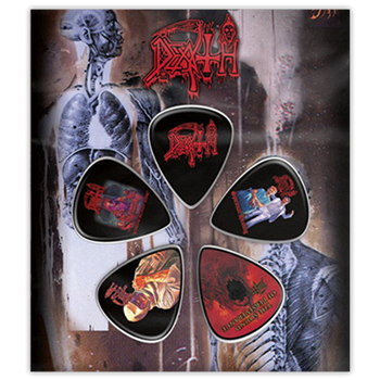 Death Logo / Album Covers (Guitar Pick Set)