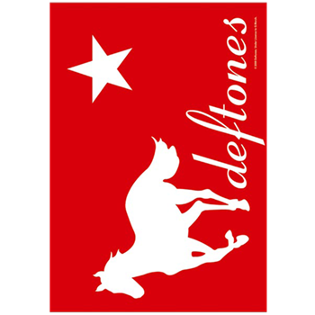 Deftones White Pony Flag