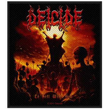 Deicide To Hell With God Patch
