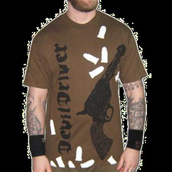 Buy Sixgun T-Shirt by Devildriver