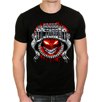 Buy Chrome Smiley T-Shirt by Disturbed