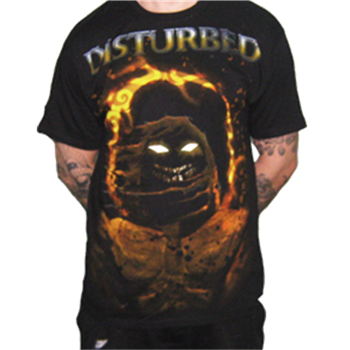 Buy Fire Halo T-Shirt by Disturbed