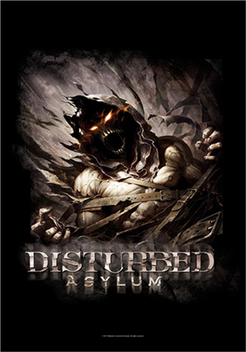 Buy Big Fade Asylum Flag by Disturbed