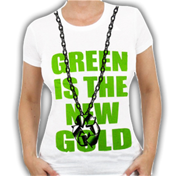 Buy Green Is The New Gold T-Shirt by Ecological