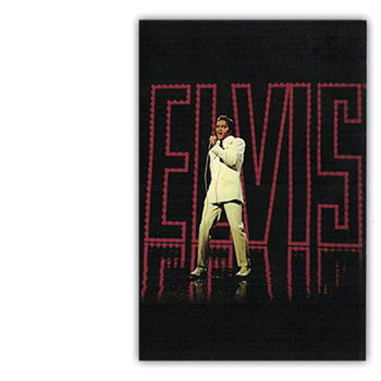 Elvis Presley Name In Lights Postcard