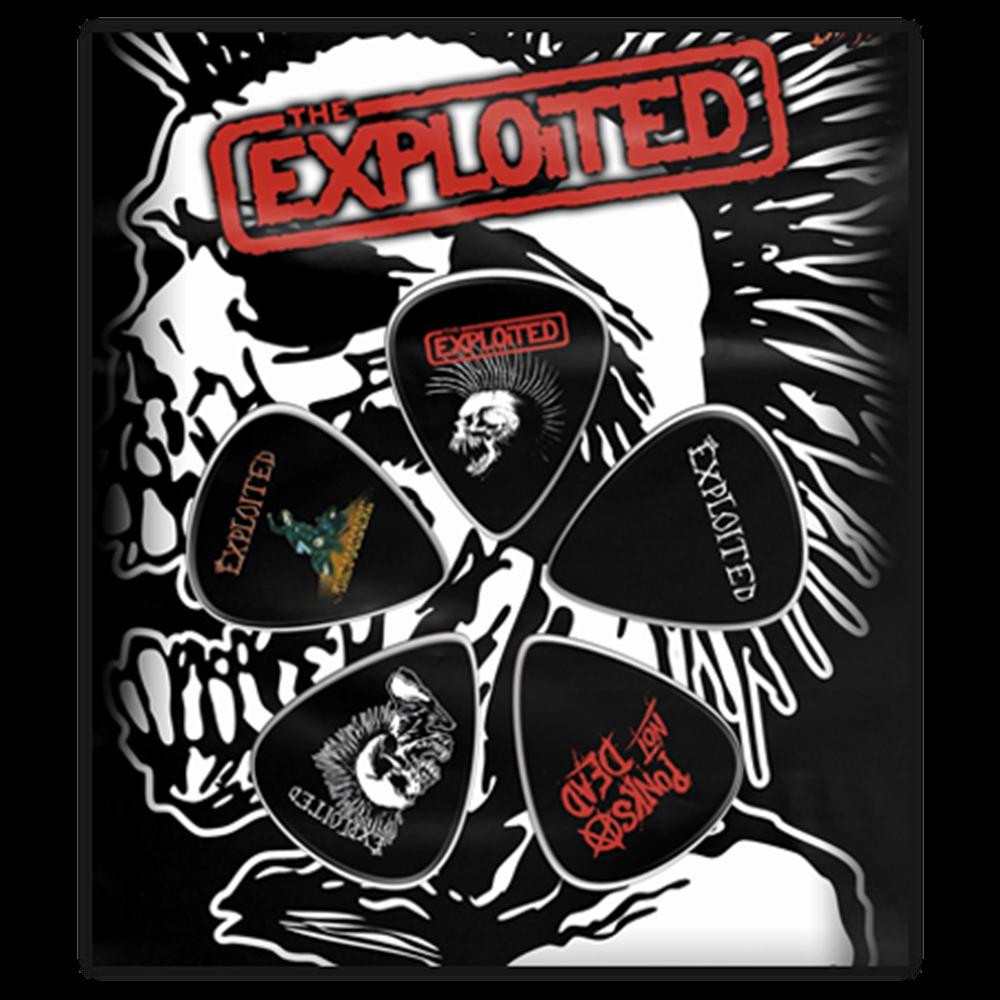 Punk's Not Dead Guitar Pick Set